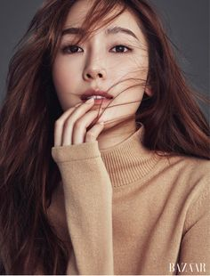 Jessica Jung SooYeon for Harper's Bazaar magazine Kpop Girl Groups, Kpop Girls, Korean Girl Groups, Jessica & Krystal, Krystal Jung, Seohyun, Snsd, Girls Generation Jessica, Jessica Jung Fashion