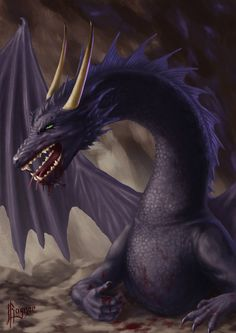 Cave Dragon by ~Ragnarkonungr on deviantART