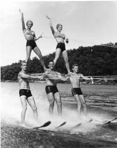 Lake of the Ozarks Water Ski Pageant - ca. 1960:: Missouri State Archives - Photo Collections  By Ralph Walker