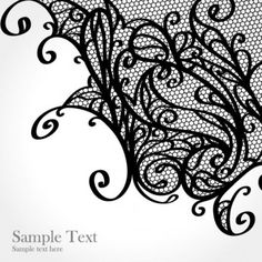 lace pattern background 01 vector