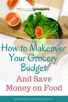 Do you want to save money on your grocery bill? Learn to save money on your food bill with simple actionable steps that will help anyone save money on their grocery bill.