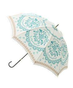wpc レースフラワー柄傘