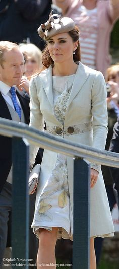 Kate: From Berkshire to Buckingham : Kate & William Attend Eton Friend Alexander Vaulkhard's Wedding in Batcombe, Dorset