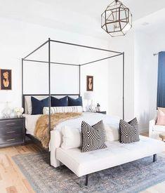 25 Elegant Bedroom Makeover Ideas on a Budget - Schlafzimmer Deko - Bedding Master Bedroom Bedding Master Bedroom, Master Bedroom Design, Bedroom Inspo, Dream Bedroom, Home Decor Bedroom, Budget Bedroom, Bedroom Furniture, Bedroom Designs, Master Suite