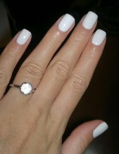 whats your thoughts on white shellac nails? Very S/S 2014. #nails #shellac #zenlifetyle