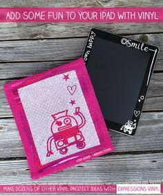 Decorate Your iPad with Vinyl