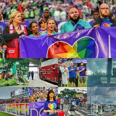 Images I've collected over the past 10 days or so. #OrlandoStrong #OrlandoUnited #PULSEOrlando #orlandocitysc #TheCityBeautiful #Orlando