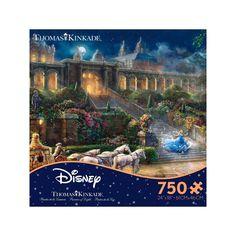 Ceaco Thomas Kinkade Disney Dreams - Clock Strikes