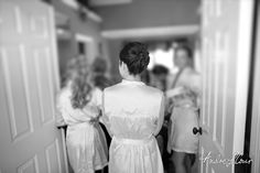 The bridesmaids get