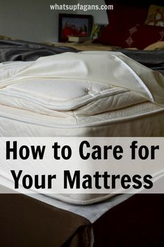 Great cleaning tips for your bed mattress! I had no idea how to clean it before. Also, great info on what to look for when buying a mattress. Diy Cleaning Products, Cleaning Solutions, Deep Cleaning Tips, Cleaning Hacks, Mattress Cleaning, Bed Mattress, Clean Mattress, Clean Baking Pans, Tips & Tricks