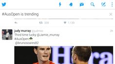 Twitter experiments with trending tweets in the timeline