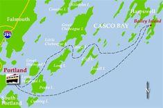 casco bay islands maine at DuckDuckGo New England Travel, New England Homes, Harpswell Maine, Calypso Music, Maine Beaches, Peaks Island, South Portland, Casco Bay, Seaside Towns