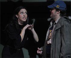 Stella Doufexis und Timothy Richards in der Oper Carmen