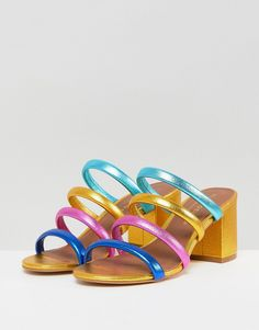 Midi Block Heels