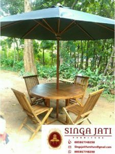 Kursi-Lipat-Meja-Payung-Pantai Outdoor Tables, Outdoor Decor, Gazebo, Ikea, Outdoor Structures, Patio, Outdoor Furniture, Check, Home Decor
