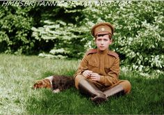 Alexei Nikolaievitch Romanov colored by ~hmhsbritannic on deviantart