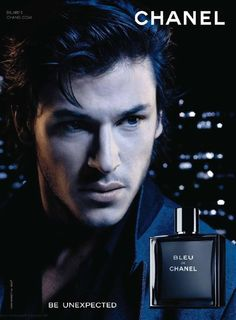 Don't know about the fragrance, but the guy is knock-dead gorgeous! Gaspard Uliel