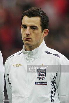 Leighton Baines of England looks on prior to the International Friendly match between England and Italy at Wembley Stadium on March 24 2007 in. Leighton Baines, England Players, England Football, Wembley Stadium, Football Photos, March, Italy, Pictures, Photos