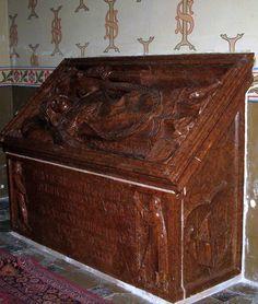 1. Wit Stwosz, tumba bpa Piotra z Bnina w katedrze włocławskiej, ca 1496. Pierwszy w Polsce nagrobek pulpitowy