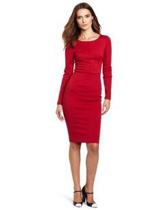 6d9887af2d Robert Rodriguez Long Sleeve Fitted Pencil Dress Long Sleeve Fitted Dress