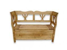 Lavice ze smrkového dřeva Mexicana 3 Teak, Love Seat, Bench, Retro, Storage, Furniture, Home Decor, Mexican, Purse Storage