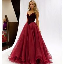 Elegant Strapless A-line Long Burgundy Evening Dress Tulle Prom Dress Formal Gowns 2018 Cheap Evening Gowns Hot Dresses Red Wedding Dresses, Backless Prom Dresses, Ball Gowns Prom, A Line Prom Dresses, Tulle Prom Dress, Homecoming Dresses, Dress Up, Formal Dresses, Formal Wear