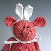 Ravelry: Incognito (rabbit ears for the non-bunny) pattern by Emily Ivey Knitting Patterns Free, Free Knitting, Free Pattern, Crochet Toys, Knit Crochet, Easter Parade, Rabbit Ears, Girl Doll Clothes, Diy Doll