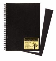 Bockingford A4 Visual Diary White and Black Alternating Pages