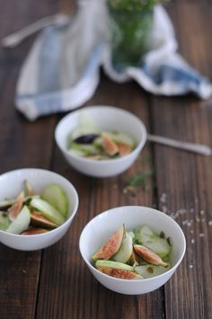 Fig & Cucumber Salad : FIG AND FAUNA