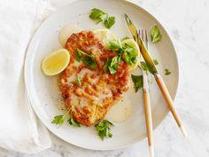 Chicken Piccata recipe from Ina Garten via Food Network