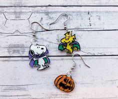 The Peanuts Snoopy /& Woodstock Pearl Earrings 12mm Jewelry Japan Limited