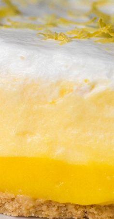 3-Layer Lemon Pie
