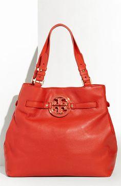 My latest bag obsession, Tory Burch Amanda Tote.