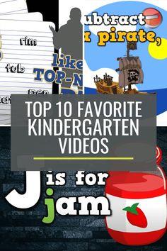 Top 10 Favorite Harry Kindergarten Videos