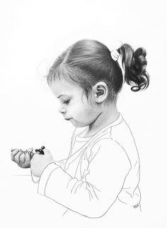 Carmen, pencil