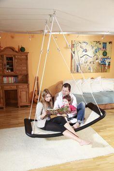 Schaukelsitz Bausatz DIE-SCHAUKEL Lifestyle PLUS Größe XL Schaukelplattform - Das wetterfeste Allround-Talent für die ganze Familie!