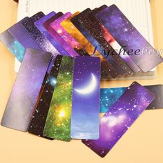 Aliexpress.com : Buy 1set /108pcs Universe Galaxy Series Bookmarks Christmas Birthday Gift Card Novelty New from Reliable novelty panties suppliers on Lycheebuy