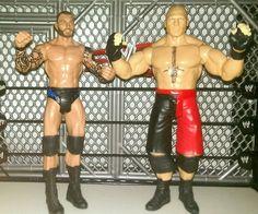 Lot of 2 WWE Mattel Wrestling figures Viper Randy Orton and Beast Brock Lesnar! - http://bestsellerlist.co.uk/lot-of-2-wwe-mattel-wrestling-figures-viper-randy-orton-and-beast-brock-lesnar/