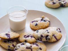 Blueberry Yogurt Cookies from http://www.spoonforkbacon.com/2013/04/blueberry-yogurt-cookies/