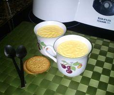 Natillas de vainilla al caramelo para #Mycook http://www.mycook.es/receta/natillas-de-vainilla-al-caramelo/