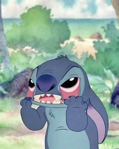 Find images and videos about disney, stitch and stich on We Heart It - the app to get lost in what you love. Cute Stitch, Lilo And Stitch, Cartoon Icons, Cartoon Memes, Disney Kunst, Disney Art, Disney Cartoons, Disney Films, Funny Disney