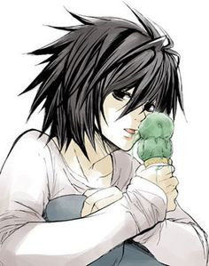 Cute L from death note