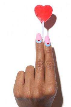 Transform your traditional manicure to one that is bold and expressive with inspiration from the OPI nail art gallery. Get art tutorials and more. Nail Pictures, Nail Photos, Love Nails, Red Nails, Opi, Nail Drawing, Nail Logo, Nailart, Happy Nails