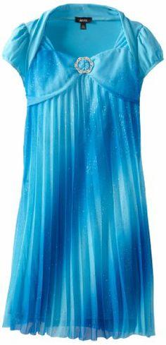 Apparel: Amy Byer Girls 7-16 Pleat Dress