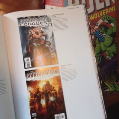 Some Marvel Encyclopedia http://ift.tt/1P0NBal