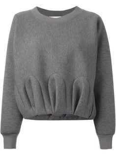 Viktor & Rolf gathered effect sweatshirt