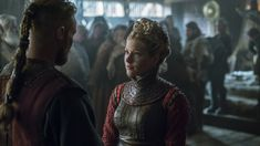 vikings - lagertha and ubbe Hedwig, Vikings Season 4, Vikings Lagertha, Viking Series, Tv Series, Seasons, Staging, Frames, Army