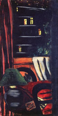 Max Beckmann - View of Rue Des Marroniers(German, 1884 - 1950)