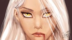 Manon Blackbeak by lany19.deviantart. Heir of Fire. Queen of Shadows. Empire of Storms. Sarah J Maas