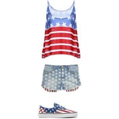 Fun and cute 4th of July outfit